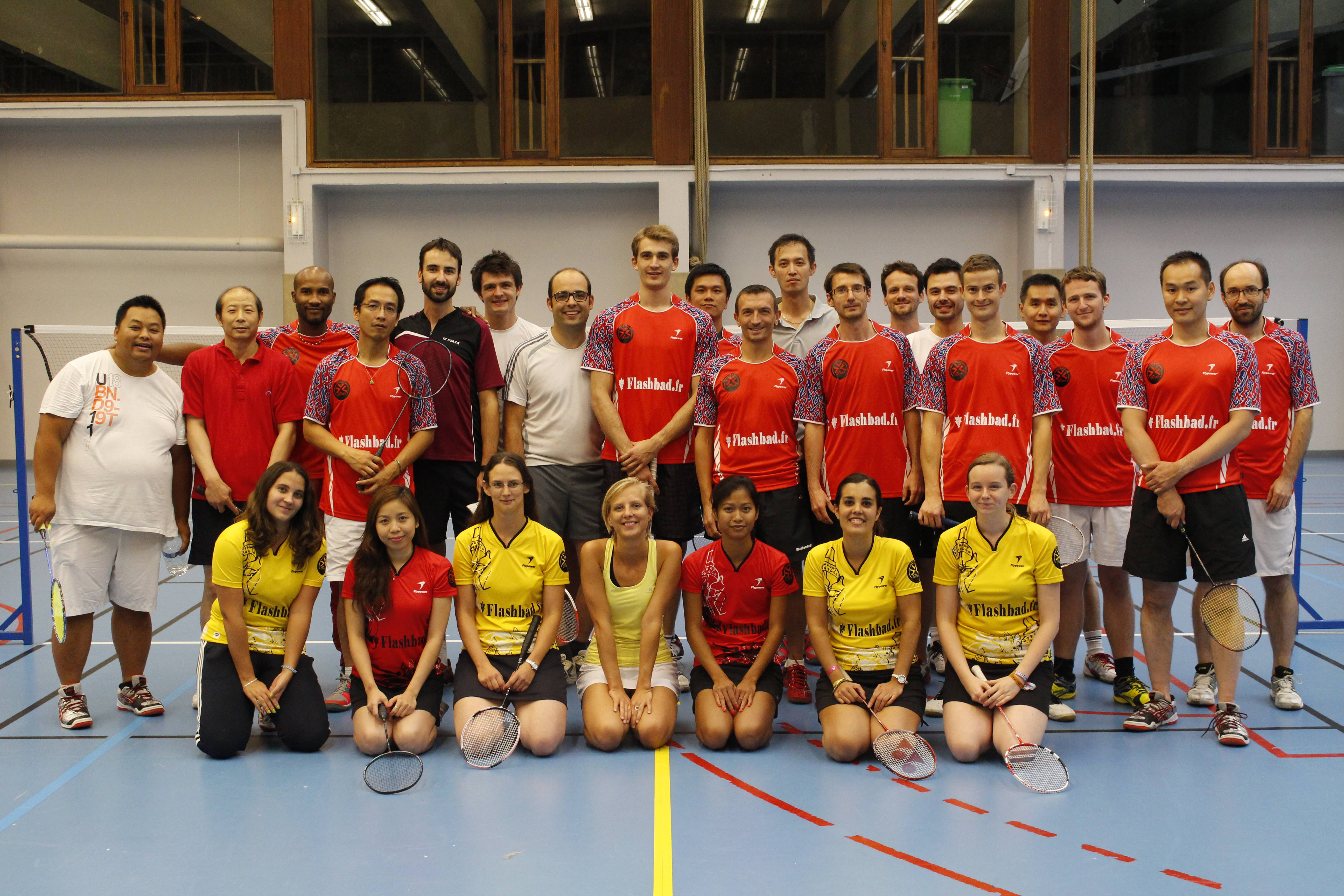 club badminton paris