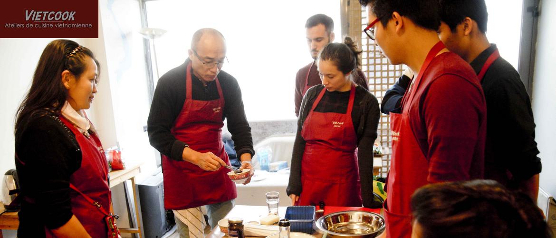 Ateliers de cuisine vietnamienne Vietcook